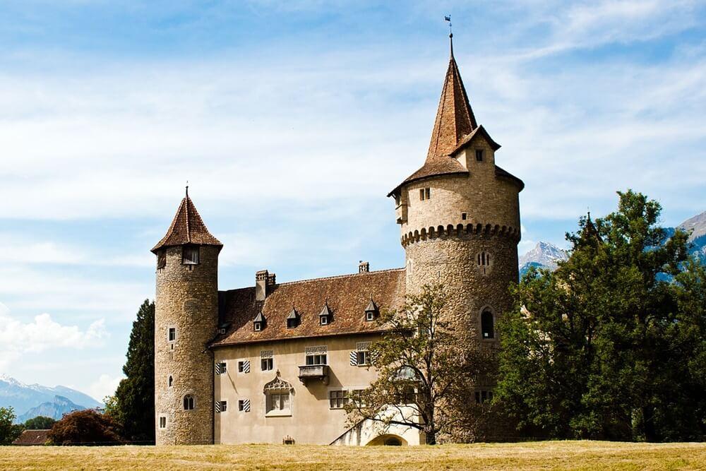 中世のお城