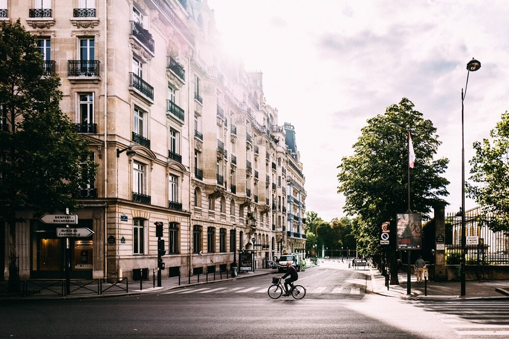 パリと自転車