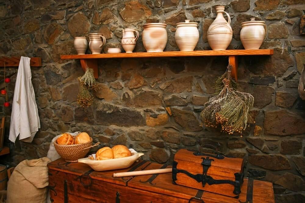 お城の台所