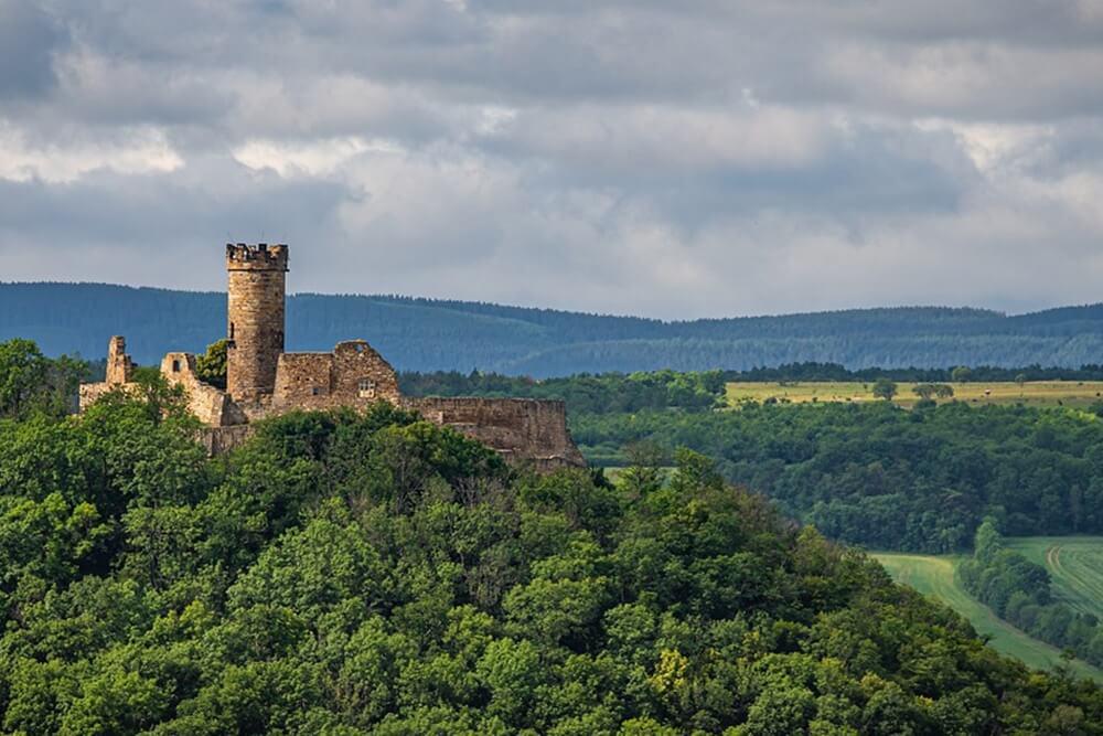 塔のあるお城